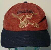 Vintage 1990s Duxbak HUNTING Wildlife Duck Goose Snapback Hat Cap Made in USA