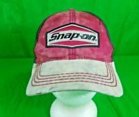 Vtg Snap On K-Products Hat Trashed Out Dirty Snapback Beat Up Mechanics Cap