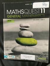 Maths Quest 11 General Mathematics VCE Units 1 and 2 Textbook + PDF Copy