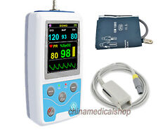 CONTEC PM50 Patient monitor Portable Blood Pressure Monitor NIBP SPO2 PR USA FDA