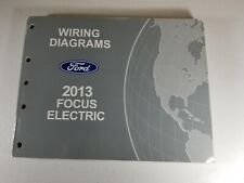 Wiring Diagrams Ford 2013 Focus Electric - Paperback