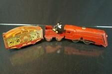 1935 LIONEL WALT DISNEY MICKEY MOUSE TIN WIND UP CIRCUS TRAIN SET ENGINE VINTAGE