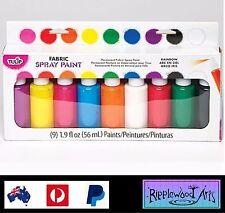 Tulip Fabric Spray Paint - 9 Bottle Kit - RAINBOW