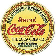 Coca Cola Keg End round fridge magnet      (de)