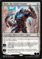 Karni, The Great Creator X (1)  NM/M MTG War of the Spark (RG) 4RCards