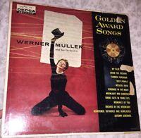 Werner Muller & Orchestra - Golden Award Songs LP Vinyl Record