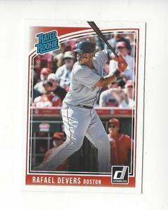 2018 Donruss #35 Rafael Devers RR RC Rookie Red Sox