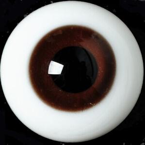 Gorgeous 18mm Deep Brown Glass BJD Eyes for Reborn/NewBorn BJD Doll
