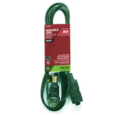 NEW! ACE Indoor Extension Cord Green 6 Ft. 16/2 SPT-2 IN162PT206GRP