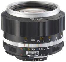 Voigtländer f. Nikon 58mm 1:1,4 Nokton SL IIs silber