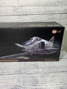 Elite Force Limited Edition F-4J Phantom II VFA-154 Black Knights 1/32 Scale Nib