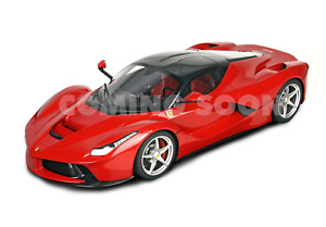 BBR Ferrari LaFerrari Rosso Corsa 322 Silver Wheels 1:12 LARGE CAR*Rare-*New!