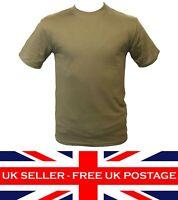 Army Cadet Plain Olive T Shirt Military ATC ACF CCF Air Cadets Uniform MTP S-XXL