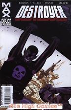 DESTROYER (2009 Series)  (MARVEL MAX) #4 Very Fine Comics Book