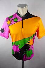 Apollo vintage bike Cycling Jersey maglia rueda camiseta 90er talla L 54cm x09