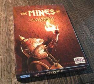 Mines of Zavandor Board Game by Z-Man Grimmborn King of the Dwarves BRAND NEW!