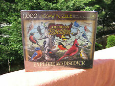 Wild Birds of North America 1000 Piece Jigsaw Puzzl American Expedition~New