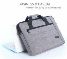 Macbook Pro 13 Shoulder Bag Durable Handle Zipper Pocket Slim Sleeve Case Grey