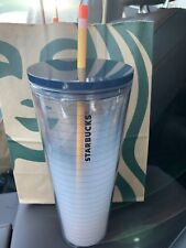 New Release summer  2020 Starbucks Tumbler 24oz Teacher Cold Cup Pencil Paper