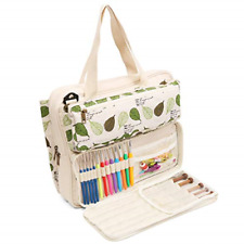 Knitting Tote Bag Yarn Storage Carrying Projects Knitting Needles Crochet Hooks