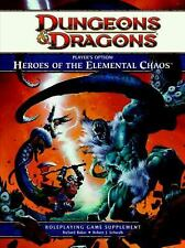 Player's Option: Heroes of the Elemental Chaos (Dungeons & Dragons) - New