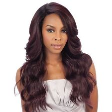Brazilian Natural Deep Invisible L Part Lace Front Wig Danity by Freetress Equal