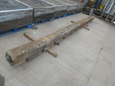 Rare17 feet 5.3 metre long Ancient Oak Beam Wood Timber structural quality C16th