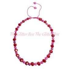 LOLA Rose MOBI NECKLACE Carmine Quartzite Malibu Pink rrp £70 ~ BNWT