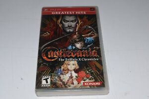 Castlevania the dracula x chronicles psp Esrb version complete