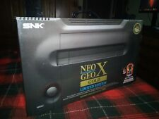 Neo Geo X Gold Limited Edition With All Neo Geo Titles. As Mint Condition!
