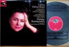 QUAD ASD 3436- Mussorgsky: Songs & Dances Of Death Rostropovitch VISHNEVSKAYA LP