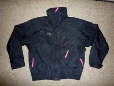 COLUMBIA Black/Pink Whirlibird Shell SKI JACKET Winter Coat Size Women's LARGE