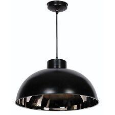 Kenroy Home 92062BLNIK Domus 1-Light Pendant Black Nickel 11x20 100 Watt NEW