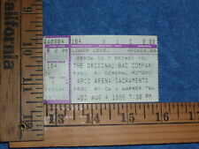 The Original Bad Company ticket stub 08/04/1999 see pictures