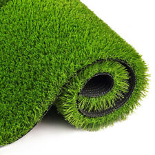 3.3'x3.9ft Landscape Fake Grass Artificial Pet Turf Lawn Synthetic Mat Rug Green