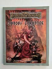 Dungeons and Dragons Forgotten Realms Heroes Lorebook Softcover 9525