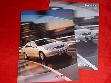 TOYOTA Camry XV30  2.4 3.0 V6 Executive Prospekt Brochure + Preisliste von 2001