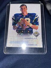 1998 Upper Deck Reserve Choice Peyton Manning Rookie Card #256