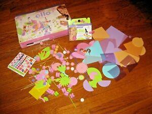 ELLO girls creation system Fairytopia lot butterflies fairies flowers set 130 pc