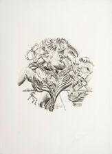 Salvador Dalì, La Poesia, litografia, 70x50 cm, firmata e numerata, autentica