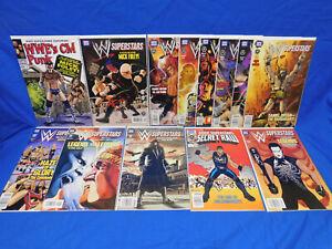 WWE Superstars #1-12 VF/NM 11 Secret Wars Hulk Hogan Homage NWO Super Genius