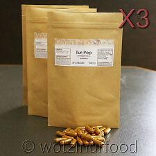 Tur-Pep Organic Turmeric Black Pepper Cinnamon Capsules High Strength 900mg 3Pk