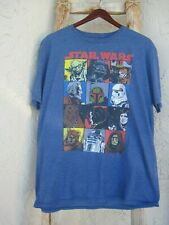 OFFICIAL Star Wars Classic Comic Icons  Men's T-Shirt Size XL