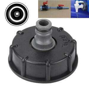 Garden For IBC Adapter Connector Hose Lock Water Pipe Tap Storage Tank Fitting