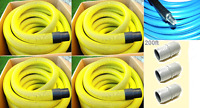 """Carpet Cleaning 2"""" Truck-Mount 200' Vacuum and Solution Hoses Pack"""
