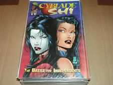 CYBLADE/SHI BATTLE FOR INDEPENDENTS #1 1ST WITCHBLADE1995-    NM