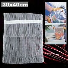 2 x Zipper Mesh Delicates Lingerie Clothes Wash Laundry Washing Machine Bag Tidy