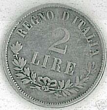 MONETA - ITALIA REGNO - L. 2 Torino - 1863  MB BB