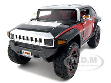 2008 HUMMER HX CONCEPT BLACK/RED DIECAST 1:24 MODEL CAR BY MAISTO 31309