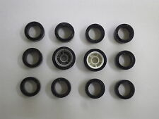 CARRERA SERVO 140 V2 V3 12 Stück Vorderreifen Reifen Supergripp Neu